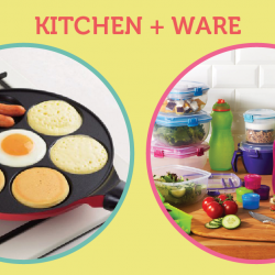 [Kitchen + Ware] Last 2 days to enjoy up to 50% off offer on pancake pans and sistema plastic wares at Kitchen+Ware