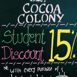 [Cocoa Colony] Student Discount Is BACK !