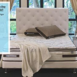 [Sealy Singapore] To celebrate World Sleep Day, we have created an islandwide promotional model - Sealy UniCased Posturepedic Vigor just for you!