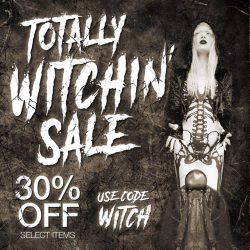 [Iron Fist Clothing] Totally Witchin' Sale 30% OFF Select Items Use Code: WITCH