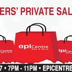 [EpiCentre Singapore] Join us at our Epitude's Members' ONLY Sale Event!