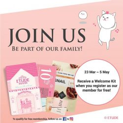 [Etude House Singapore] Join Our Family!
