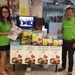 [Four Seasons Organic Market] Meet our friendly promoters for Low GI white rice!