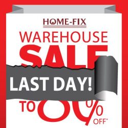 [Home-Fix Singapore] LAST DAY OF SALE!