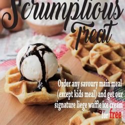 [Paddington House of Pancakes] Grab your FREE liege waffle today!