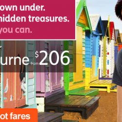 Jetstar: All-in Hot Fares to 23 destinations | Explore Melbourne from $206!