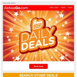 [AirAsiaGo] ☺ You're on the list—We picked these deals just for you ☺