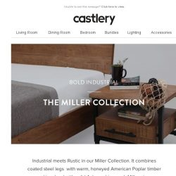 [Castlery] Industrial meets Rustic - The Miller Collection