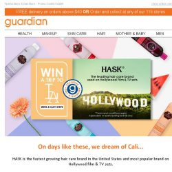 [Guardian] Win a Trip to LA With HASK in 4 Easy Steps🌴!