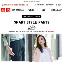 [UNIQLO Singapore] Be the Smartest in Style