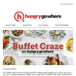 [HungryGoWhere] Buffet Deals: 1-for-1, 20% off, 3rd Dines Free & more awesome buffet deals to whet your appetite!