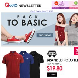[Qoo10] Qoo10 Special Offer >> Ralph Lauren / Tommy Hilfiger / Lacoste Polo-Tshirts