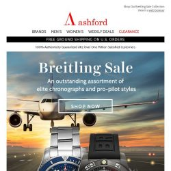 [Ashford] Breitling Watches On Sale