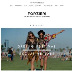 [Forzieri] Final hours | Exclusive 30% Off New Season