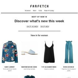 [Farfetch] [New In] Shop our latest arrivals