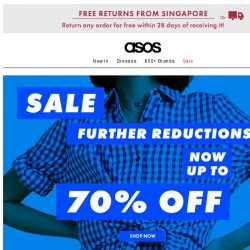 [ASOS] There's up to 70% off sale now