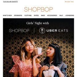 [Shopbop] Want a gift from Shopbop? Find out more