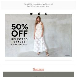[MDS] SALE STARTS NOW
