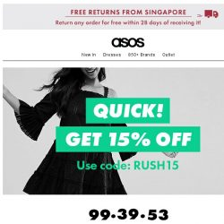 [ASOS] Oh, hey, 15%-off code