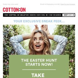 [Cotton On] , Your Exclusive Subscriber Offer!