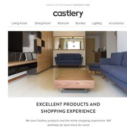 [Castlery] See how our Oxford Blue Hanford defined Zafer's home