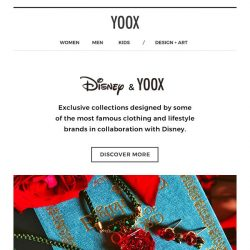 [Yoox] Disney & YOOX: come and see what's new