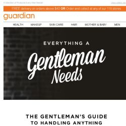 [Guardian] The Gentlemen's Guide to Handling Anything!