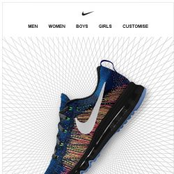 [Nike] Make Flyknit Yours with NIKEiD