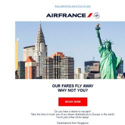 [AIRFRANCE] Flying Offers Worldwide!