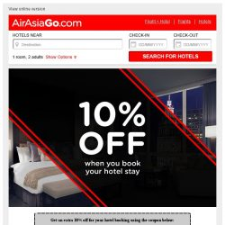 [AirAsiaGo] 🔔 Hurry, this coupon offer is only valid for 5 days! 🔔