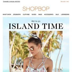 [Shopbop] It's bikini o'clock somewhere