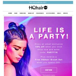 [HQhair] Life is a Party!