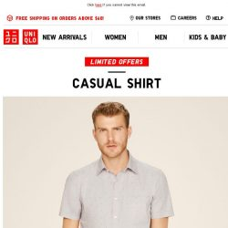 [UNIQLO Singapore] Comfort just for you