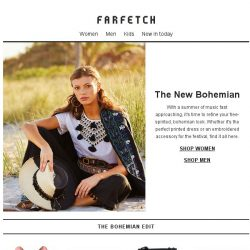 [Farfetch] The new bohemian style