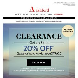 [Ashford] These Clearance Pieces Won't Last!