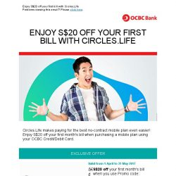 [OCBC]  Get more out of life with Circles.Life!