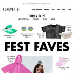[FOREVER 21] Can we go back??