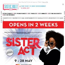 [SISTIC] Direct from the US, Sister Act opens in 2 Weeks!