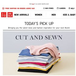 [UNIQLO Singapore] Here's something for your next #OOTD