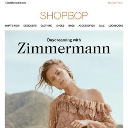 [Shopbop] Spring dresses from Zimmermann are here