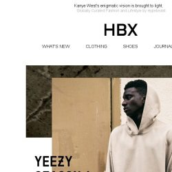 [HBX] YEEZY SEASON 4 is now online.
