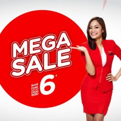 AirAsia: Mega Sale to Bali, Krabi, Kuching, Phuket & More from SGD6 Base Fare!