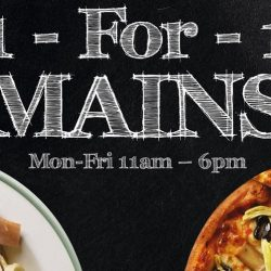 PastaMania: 1-for-1 Mains Weekday Promotion at Parkway Parade