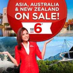 AirAsia: Asia, Australia & New Zealand on Sale from just $6!