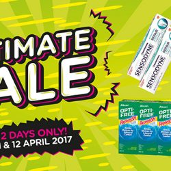 Watsons: 2-Day Ultimate Sale with more than 400 Hot Buys, Buy 1 Get 1 Free deals & offers up to 70% OFF