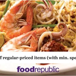 Food Republic: Flash your PAssion Card to Enjoy an Exclusive 10% Discount on Weekdays!