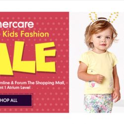 Mothercare: Baby & Kids Fashion Sale with Up to 70% OFF Adorable Outfits & Accessories