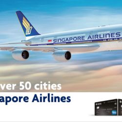 Singapore Airlines: Early Bird Economy Class Fares to over 50 Cities with UOB Cards
