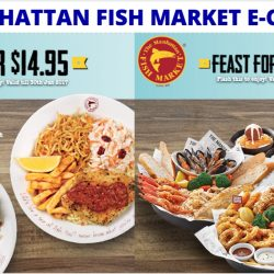 The Manhattan FISH MARKET: Flash these e-Coupons to enjoy savings of over $226!