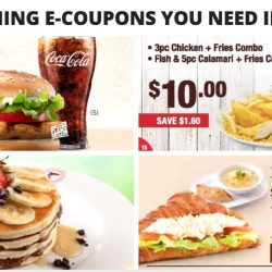 All the Dining E-Coupons in Singapore You Need to Save Now from Burger King, Long John Silver's, Delifrance & More! - April/May Version